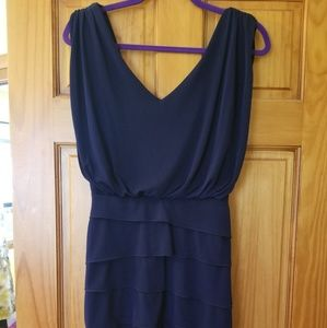 Cache dress, navy size 2